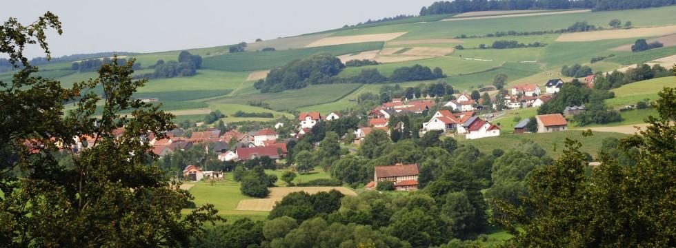 Dorf umgebung Eisenberg