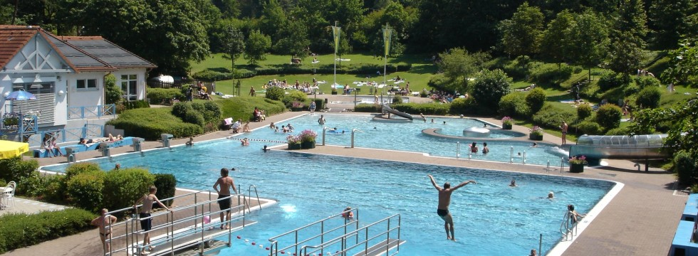 Schwimmbad in Kirchheim